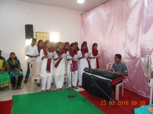 Good Friday Service On 23-03-2016